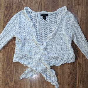 Angora Blend Ballet Sweater